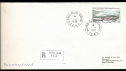 French Antarctic Territory 1996 Port Couvreux Cover - French Southern And Antarctic Territories (TAAF)