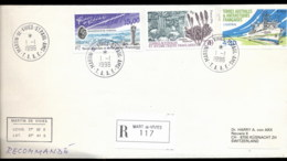 French Antarctic Territory 1996 Micro Meteorites, Sea Grass, Ship Cover - French Southern And Antarctic Territories (TAAF)