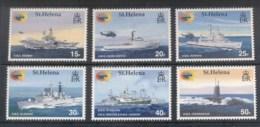 St Helena 2002 Ships Of The Falkland Is War MUH - Saint Helena Island