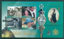 South Georgia 2006 QEII Golden Jubilee MS MUH - South Georgia