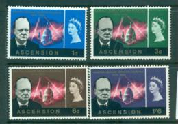 Ascension Is 1966 Churchill MUH Lot66148 - Ascension (Ile De L')