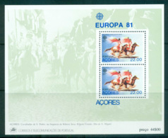 Azores 1981 Europa, Folklore MS MUH Lot65813 - French Southern And Antarctic Territories (TAAF)