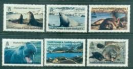 South Georgia 1991 Elephant Seals MUH Lot76445 - South Georgia