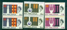 St Helena 1966 UNESCO Pairs MUH Lot66157 - Saint Helena Island