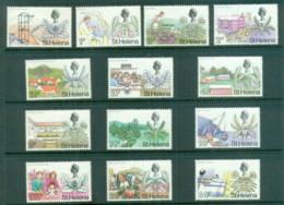 St Helena 1971 QEII Pictorials, New Currency MUH - Saint Helena Island