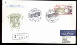 French Antarctic Territory 1987 French Polar Expeditions FDC - French Southern And Antarctic Territories (TAAF)