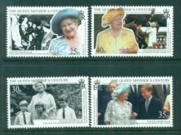 South Georgia 1999 Queen Mother's Century, Royalty MUH - South Georgia