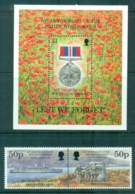 South Georgia 1995 End Of WWI + MS MUH Lot76453 - Géorgie Du Sud