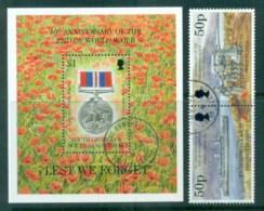 South Georgia 1995 End Of WWI + MS FU Lot78018 - South Georgia