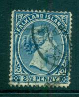 Falkland Is 1894 2.5d QV Ultra FU Lot66198 - Falkland Islands