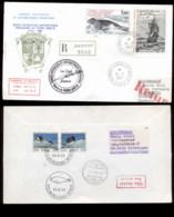 French Antarctic Territory 1987 Sailing Ship, Frigate La Novara, Seal Cover - Terres Australes Et Antarctiques Françaises (TAAF)