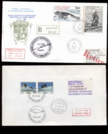 French Antarctic Territory 1987 Sailing Ship, Frigate La Novara, Seal Cover - French Southern And Antarctic Territories (TAAF)