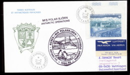 French Antarctic Territory 1985 Port Jeanne D'Arc, Expedition Cover - French Southern And Antarctic Territories (TAAF)