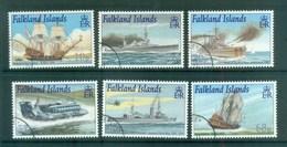 Falkland Is 2001 Royal Navy Connections FU Lot77926 - Falkland Islands