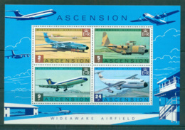 Ascension Is 1975 Wideawake Airfield MS MUH Lot66120 - Ascension