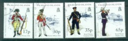 Falkland Is 1998 Military Uniforms FU Lot77904 - Falkland Islands