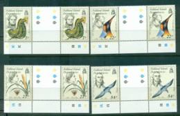 Falkland Is Deps 1985 Naturalists Gutter Prs MUH Lot58864 - Falkland Islands