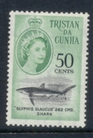 Tristan Da Cunha 1961 QEII Pictorials, Fish, New Currency, 50c MLH - Tristan Da Cunha