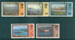 Falkland Is Deps 1985 Views Re Issue FU Lot77972 - Falkland Islands