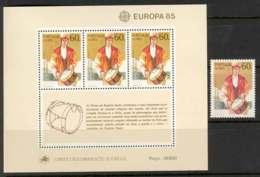 Azores 1985 EUROPA + MS MUH Lot7386 - Terres Australes Et Antarctiques Françaises (TAAF)