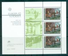 Madeira 1982 Europa, History MS MUH Lot65851 - Terres Australes Et Antarctiques Françaises (TAAF)