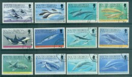 South Georgia 1994 Whales & Dolphins FU Lot78015 - South Georgia