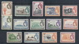 Tristan Da Cunha 1954-58 QEII Pictorials (faults) MLH - Tristan Da Cunha