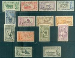 Falkland Is 1952 KGVI 2nd Definitives FU Lot77702 - Falkland Islands