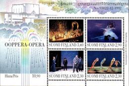 Finlande Bloc N* Yv:10 Mi:10 Oopera-Opera (Trace De Charnière) - Musique