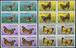 TURKEY 1987 (**) - Mi. 2769-72, Butterflies [Block Of Four] - 1921-... Republic