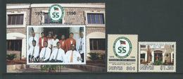 Nevis 1998 Social Security Set Of 2 & Miniature Sheet MNH - St.Kitts-et-Nevis ( 1983-...)