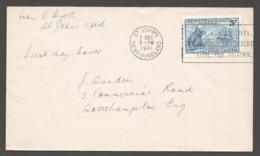 1941  Grenfell Sc 252  No Cachet To England - 1908-1947