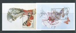 Nevis 1997 Butterfly 2 Miniature Sheets   MNH - St.Kitts-et-Nevis ( 1983-...)