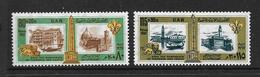 EGYPTE 1967 SAUVEGARDE DE FLORENCE ET VENISE  YVERT N°709/10  NEUF MNH** - Égypte