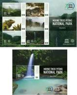Dominica 2015 World Heritage- Morne Trois Pitons National Park Ss Mint - Dominique (1978-...)