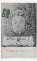 (RECTO / VERSO) QUEYRAS EN 1912 - N° 153 - TABLEAU DE LA SAUVEGARDE DANS LA MAISON DU ROI - GORGES DE GUIL - CPA VOYAGEE - Otros Municipios
