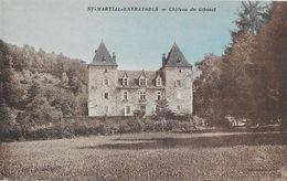 St Saint-Martial-Entraygues (Corrèze) - Château Du Gibanel - Collection Aussoleil - Carte Colorisée Non Circulée - France