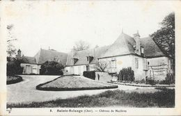 Ste Sainte-Solange (Cher) - Château De Mazières - Edition Maquaire - Carte E.M.B. N° 8 - Autres Communes