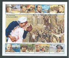 Nevis 1995 World War II Anniversary Sheet Of 8 X $1.25 Values MNH - St.Kitts And Nevis ( 1983-...)