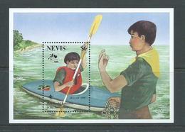 Nevis 1995 Scout Jamboree Miniature Sheet MNH - St.Kitts And Nevis ( 1983-...)