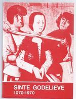 LIQUID. - 2€ !!!!!!! GISTEL 1970 Sinte Godelieve 1070-1970. Catalogus Van De Tentoonstelling - Culture