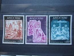 VEND BEAUX TIMBRES D ' ANDORRE FRANCAIS N° 184 - 186 , XX !!! - Ungebraucht