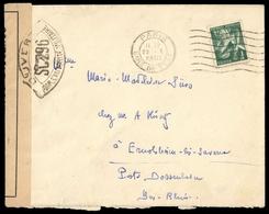 1938, Frankreich, 394, Brief - Ohne Zuordnung