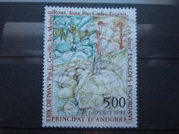 VEND BEAU TIMBRE D ' ANDORRE FRANCAIS N° 440 , XX !!! - Andorre Français