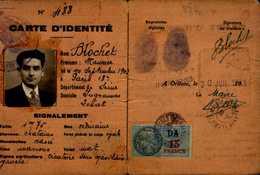 CARTE D'IDENTITE  DEPARTEMENT DU LOIRET.. - Cartes