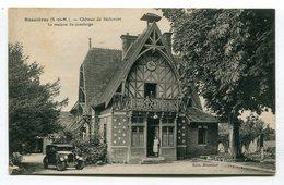 CPA  77 : BUSSIERES   Château De Séricourt   A  VOIR  !!!!!!! - Autres Communes