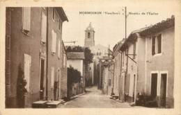 84 - MORMOIRON - MONTEE DE L'EGLISE - Mormoiron