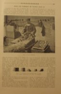 1909 UNE FABRIQUE DE TALONS LOUIS XV - LE TOUPILLAGE - LE TOURNAGE - Journaux - Quotidiens