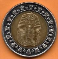 EGYPT / EGYPTE  1 Pound 2008 / 1429 BIMETAL - Egypte