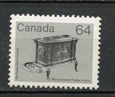 Canada - Kanada 1983 Y&T N°834 - Michel N°870 Nsg - 64c Poêle à Bois - 1952-.... Règne D'Elizabeth II